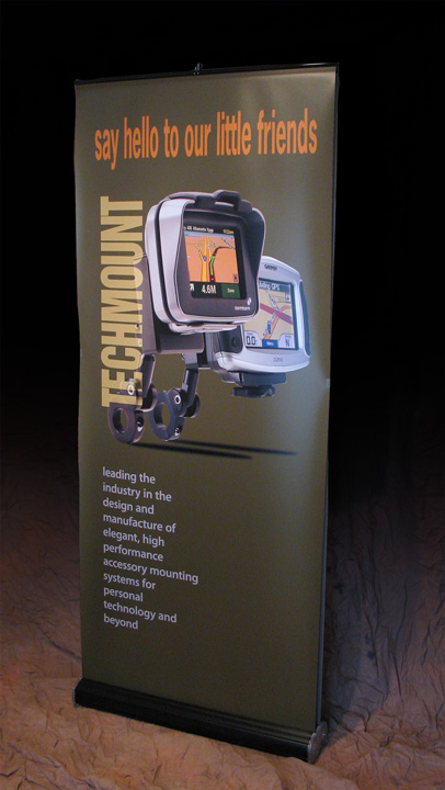 popup display conveys quality, at a glance product information