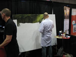 Mantic booth painting