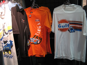 A 2 Z Racer Gear offered a great line of comfortable tees.