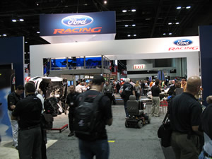 Ford Racing booth display