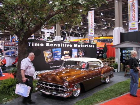 SEMA booths are known for excess