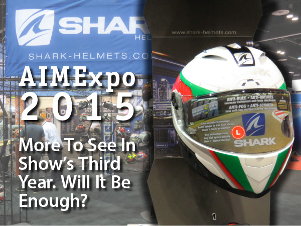 bigger, more expansive, quieter - AIMExpo Part 3