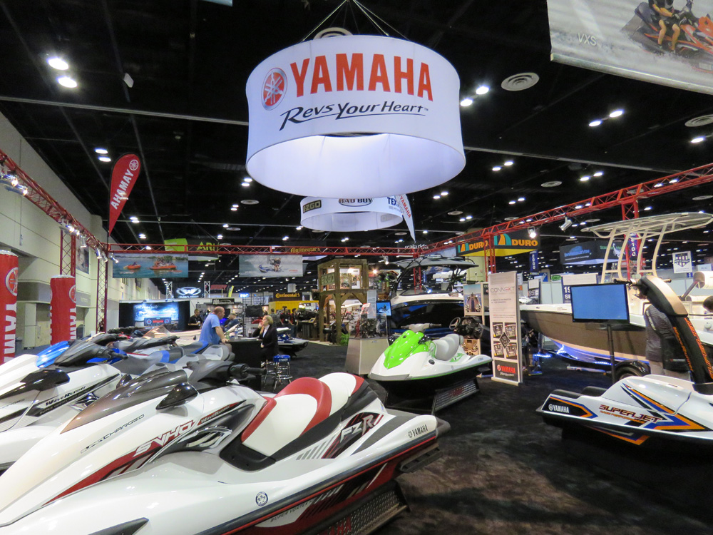 Yamaha brought their boats