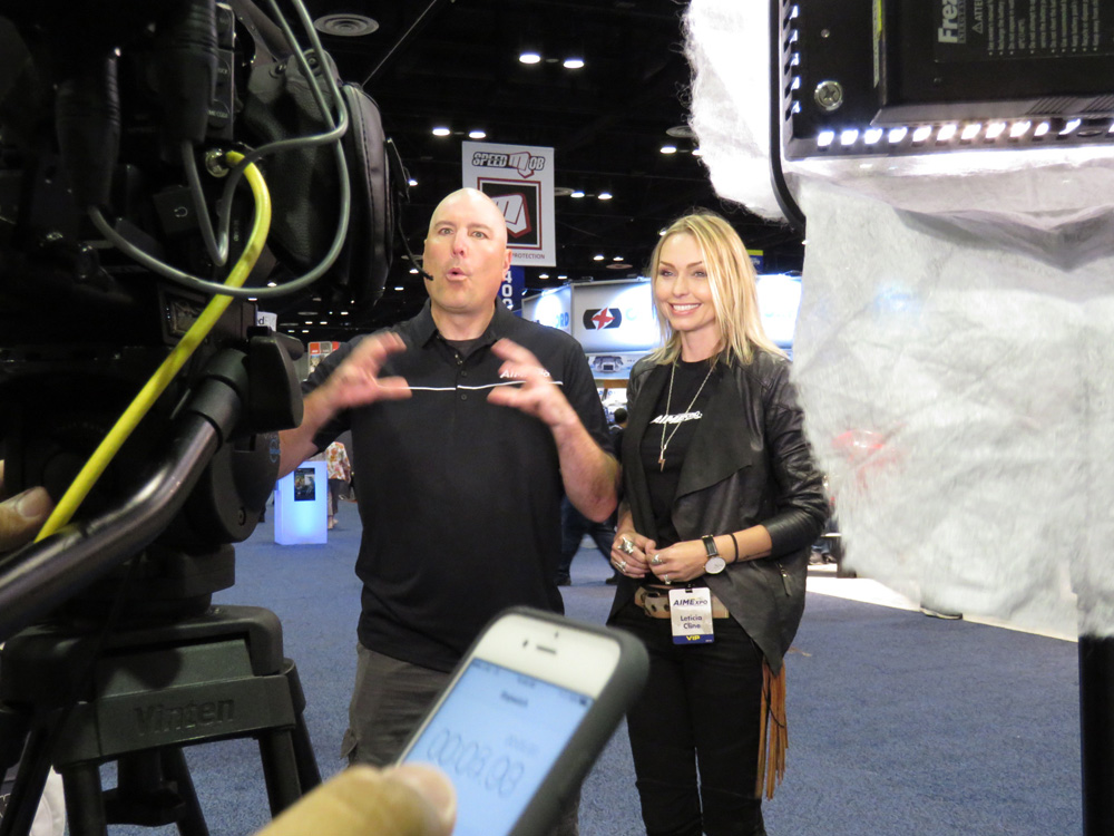 showfloor video production