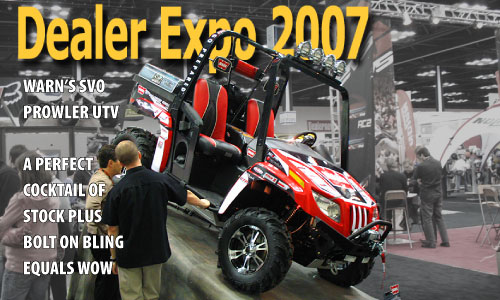 Warn Winch's over the top SVO Prowler