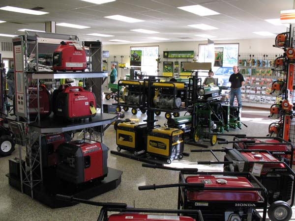 complimentary lines include generators, yard power tools