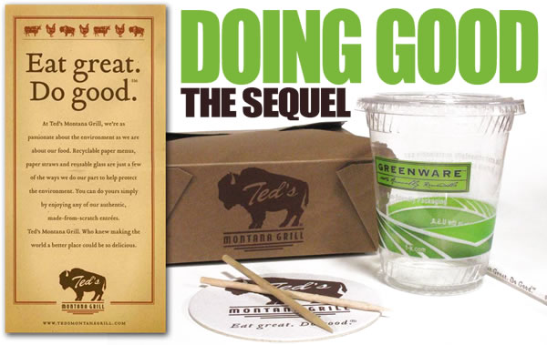 ted turner's montana grill serves healthy bison and green marketing