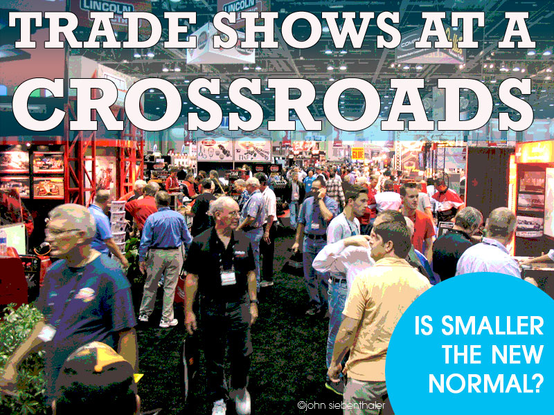 trade shows have to change to meet marketing challenge