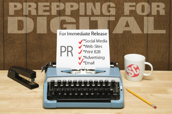 from print to pixels means a new workflow for pr press releases