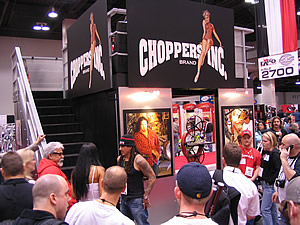 chopper's inc was packed