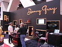 seat maker danny gray had a knockout booth